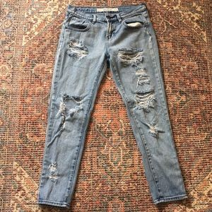 Brandy Melville distressed jeans size 25